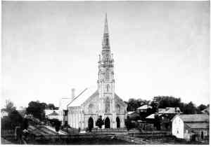 Oldest known photo of Simcoe Street United Church